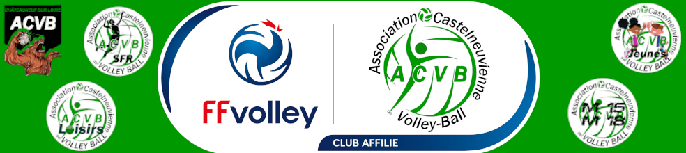 Association Castelneuvienne de Volley-Ball : site officiel du club de volley-ball de Châteauneuf-sur-Loire - clubeo