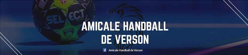 AMICALE HANDBALL DE VERSON : site officiel du club de handball de Verson - clubeo