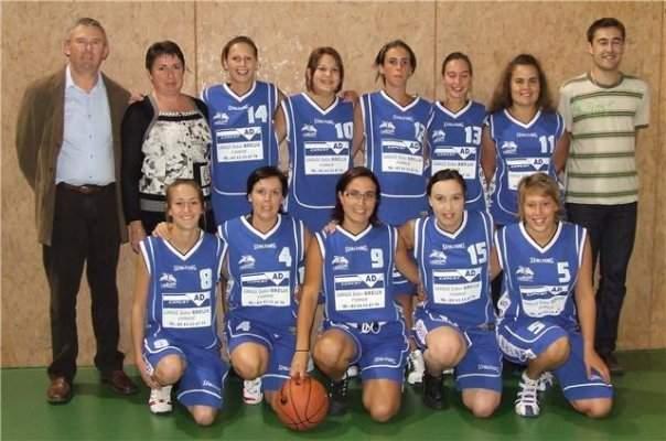 L'Huisserie Basket Senior fille 1