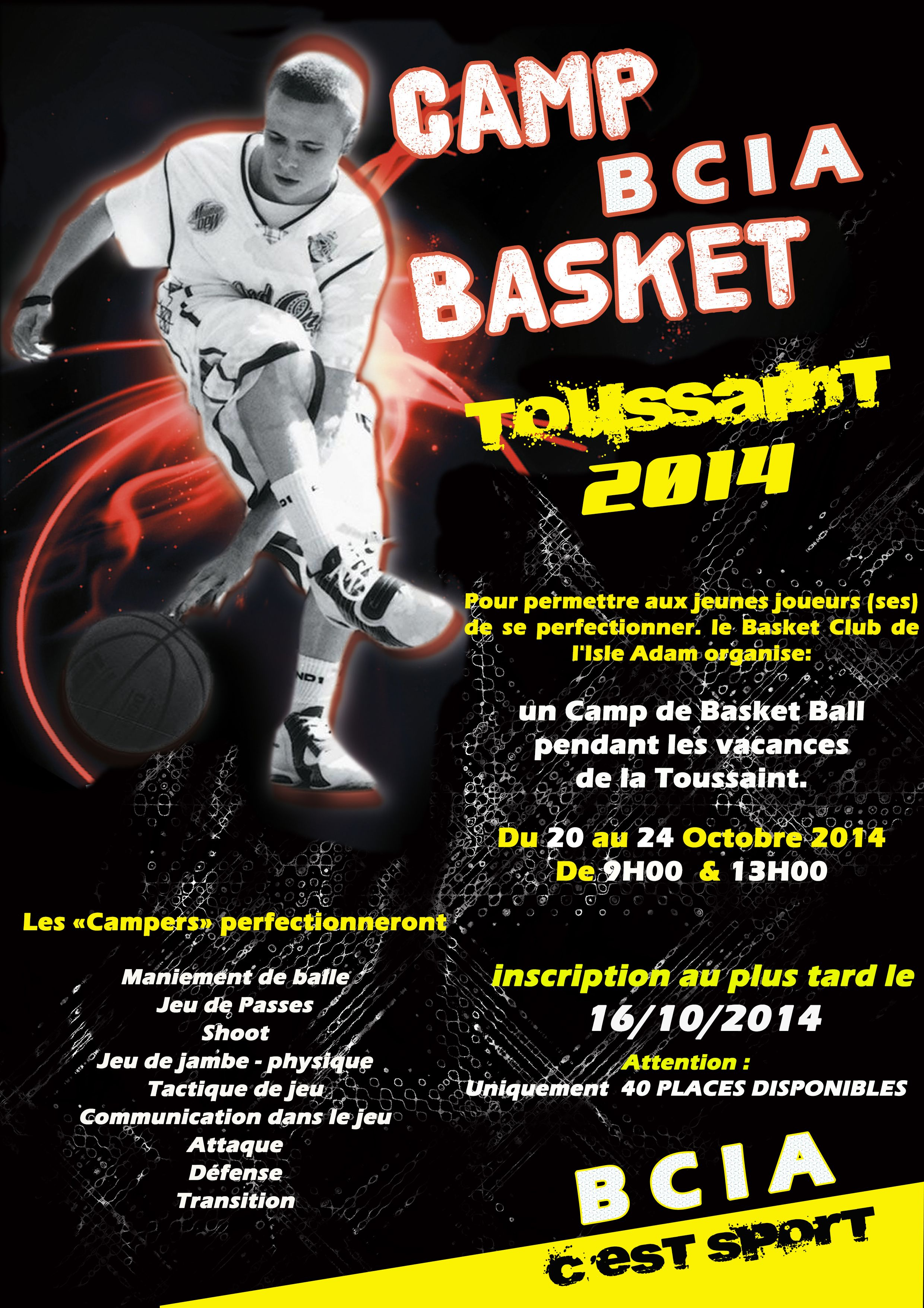 STAGE BASKET - TOUSSAINT 2014
