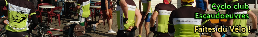 Cyclo-Club ESCAUDOEUVRES : site officiel du club de cyclotourisme de ESCAUDOEUVRES - clubeo