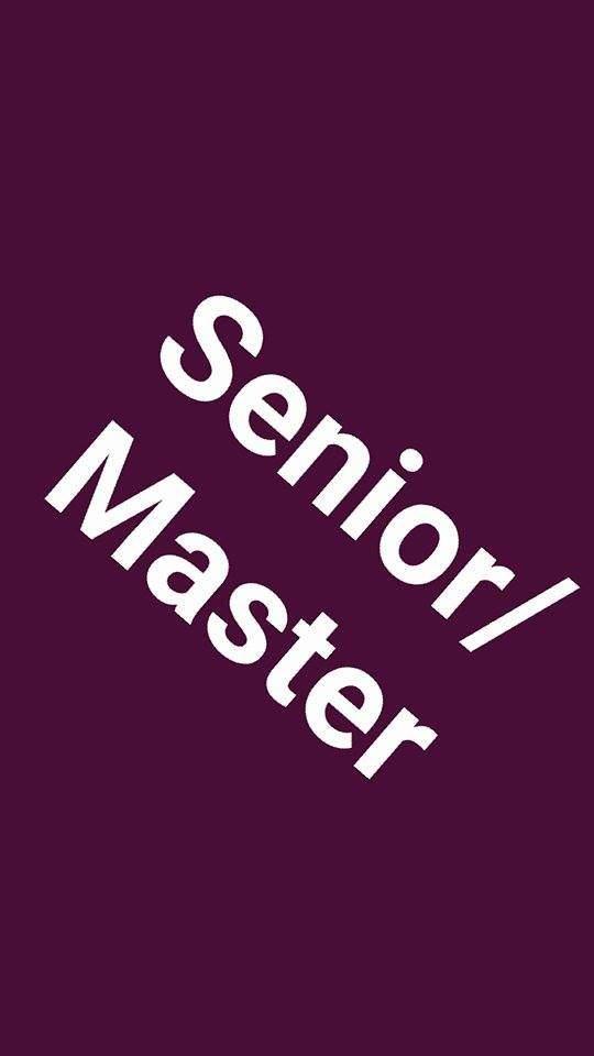 Senior/Master