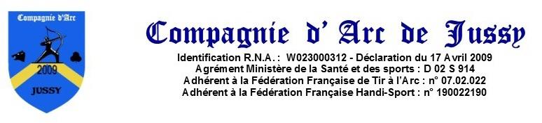 Compagnie d'Arc de Jussy (Aisne) : site officiel du club de tir à l'arc de JUSSY - clubeo