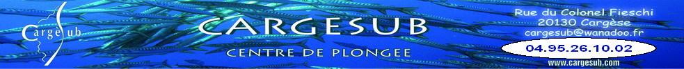 Centre de Plongée CARGESUB : site officiel du club de sports sous-marins de CARGESE - clubeo