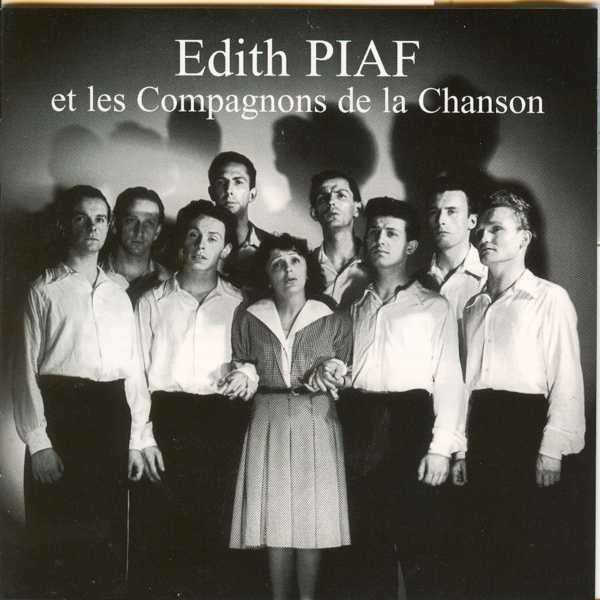 """Edith Piaf et Les Compagnons De La Chanson """"Les 3 cloches"""" -1956"""