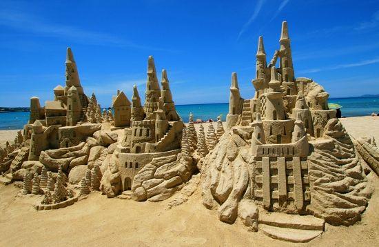 chateaux de sable