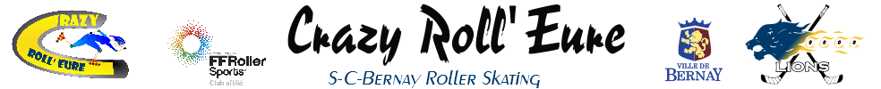 CRAZY ROLL'EURE : site officiel du club de roller in line hockey de BERNAY - clubeo