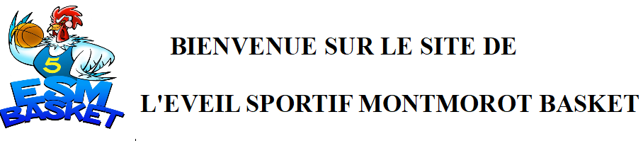 ESM Basket : site officiel du club de basket de Montmorot - clubeo