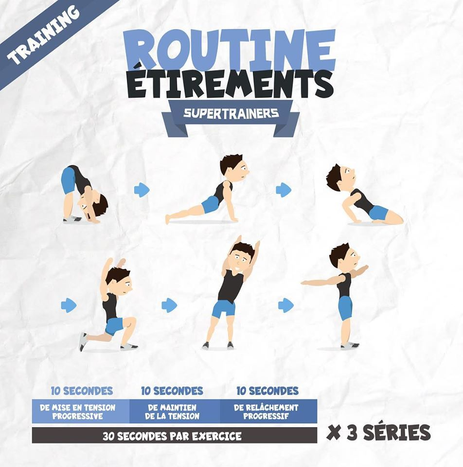 Routines étirements