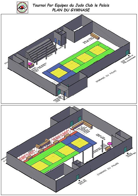 Plan Gymnase 3D