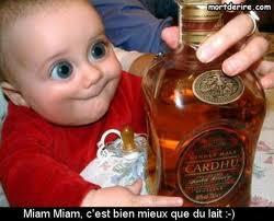 bébé whisky