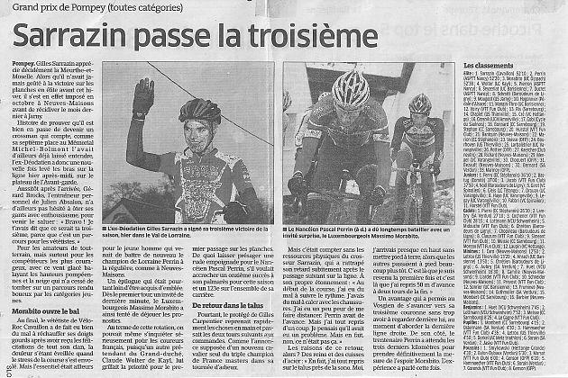 >>>Article L'Est Rep. Du 10 Décembre 2012
