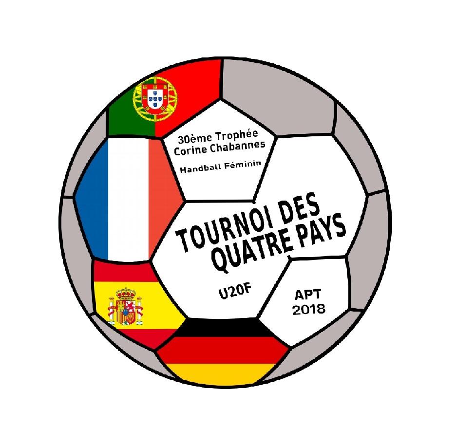 Logo tournoi des quatre Pays handball feminin