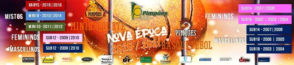 PIMPÕES BASQUETEBOL : site oficial do clube de basquete de Caldas da Rainha - clubeo