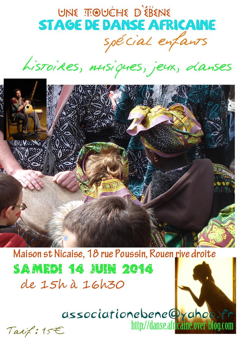 stage danse africaine enfants à rouen