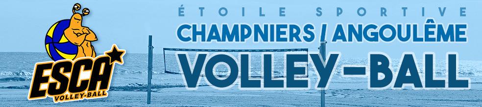 ÉTOILE SPORTIVE CHAMPNIERS ANGOULÊME : site officiel du club de volley-ball de ANGOULEME - clubeo