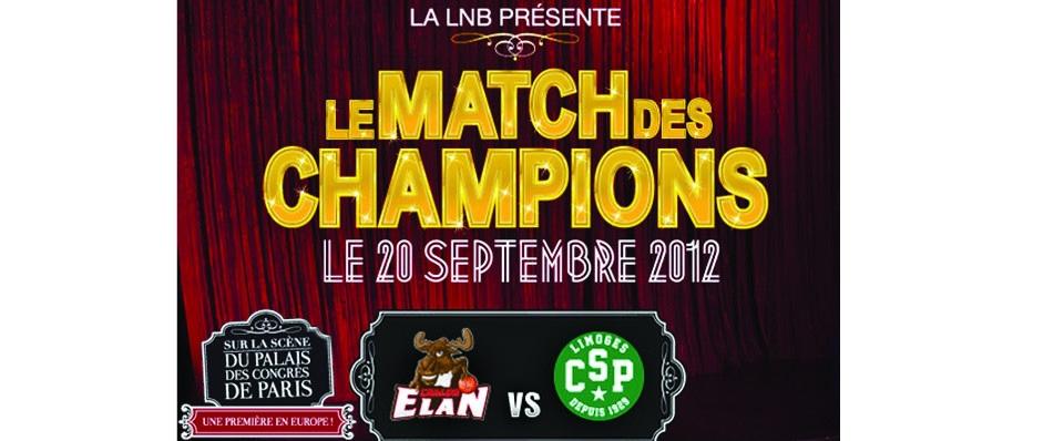 LE MATCH DES CHAMPIONS