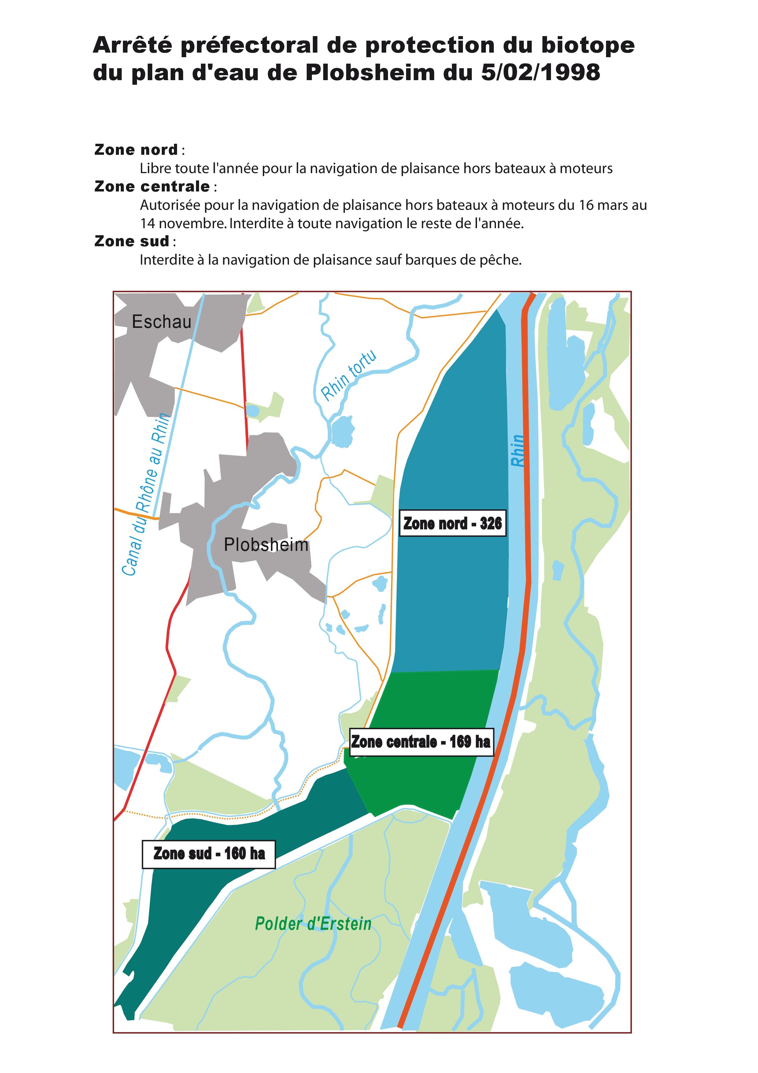 Télécharger la carte des zones de navigation (PDF).