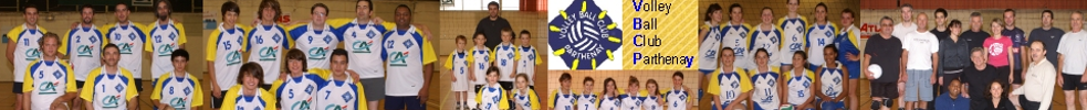 VOLLEY BALL CLUB PARTHENAISIEN : site officiel du club de volley-ball de PARTHENAY - clubeo