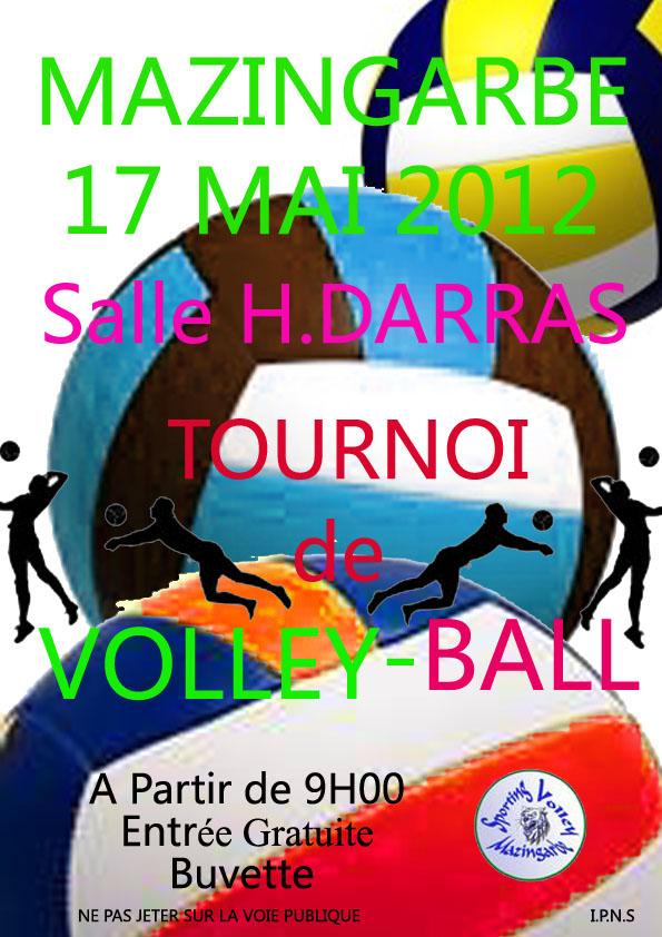 affiche du tournoi du 17 mai